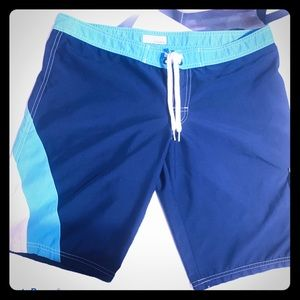 Billabong Mens M Swim board shorts blue/white